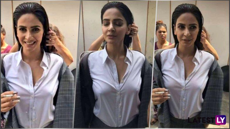 Saba Qamar Vidéo Going Braless En chemise blanche Leaked Après-5926