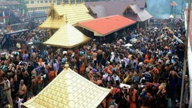 Sabarimala Temple Row: Kerala Government Considering Using Helicopters to Fly Women Devotees to Holy Shrine