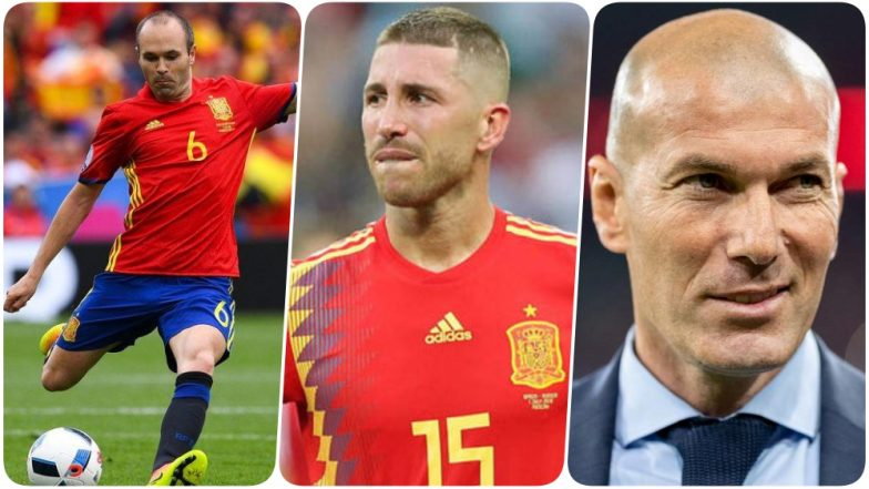 2018 FIFA World Cup Diaries: Spain Captain Sergio Ramos Pays Tributes to Zinedine Zidane & Andre Iniesta