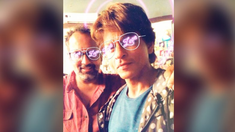 Shah Rukh Khan's Adorable Selfie with 'Zero' Director Aanand L Rai on Set
