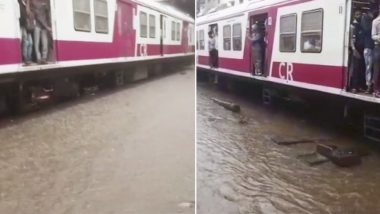 Mumbai Rains: Central Railways to Build Sluice Gate to Drain Water From Rail Tracks More Quickly