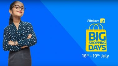 Flipkart Big Shopping Days 2018 Sale Starts Today at 4PM IST; Discounts on iPhones, Google Pixel 2, iPads & Vivo Smartphones, TVs, Laptops & More
