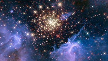 'Like a July 4 Fireworks Display'! NASA Releases Photo of 'Celestial Fireworks' Situated 22,000 Light Years Away