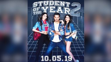 Student of The Year 2: Tiger Shroff, Ananya Panday and Tara Sutaria's Film to Now Release on May 10, 2019, Confirms Karan Johar