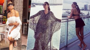 Sushmita Sen or the Miami Sun- We Can't Decide What's Hotter! - See Pics
