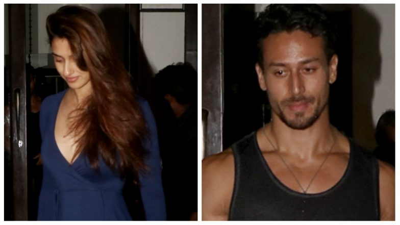 Disha Patani and Tiger Shroff's 'Saturdate' Done Right! – See Pics