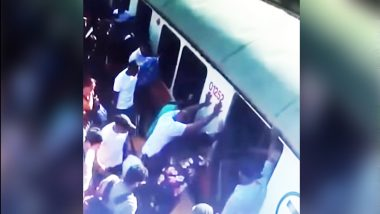 Commuters Help Boston Woman Whose Leg Got Stuck Between Platform & Train, Lady Begs to 'Not Call an Ambulance' as it Costs a Bomb: Video Goes Viral