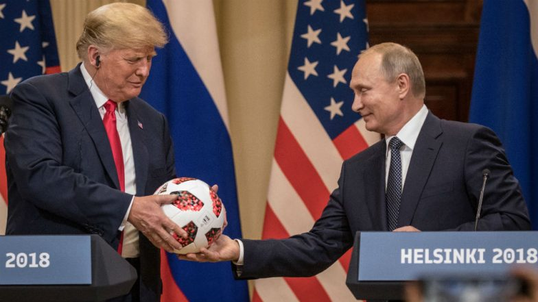 Russian President Vladimir Putin Officially Invited to United States by White House