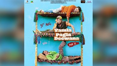 Yamla Pagla Deewana Phir Se and Gold Clash Averted: Bobby Deol, Sunny and Dharmendra Starrer to Now Release on August 31