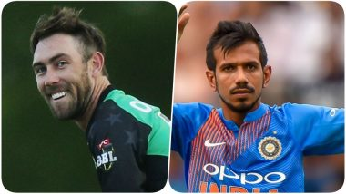 India vs England: Glenn Maxwell Trolls Yuzvendra Chahal For Doing a Neymar