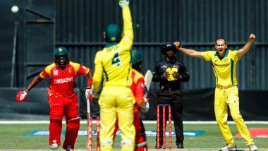 Zimbabwe vs Australia T20I 2018 Live Cricket Streaming: Get Live Cricket Score, Watch Free Telecast of ZIM vs AUS, Tri-Series T20 Match on TV & Online