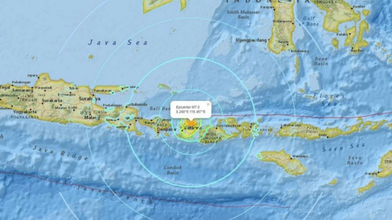 Earthquake in Lombok: 6.9 Magnitude Tremors Jolt Indonesian Island, Hours After Similar Intensity Quake