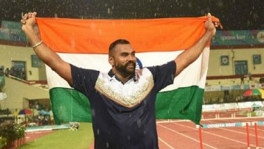 Tejinder Pal Singh Toor Breaks His Own Record During National Open Athletics Championships 2019 in Shot Put