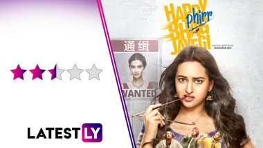Happy Phirr Bhag Jayegi Movie Review: Jimmy Sheirgill and Piyush Mishra are the MVPs Once Again in This Sonakshi Sinha Comedy