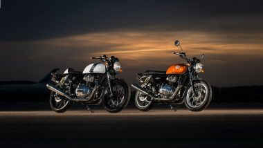Royal Enfield Showcases Continental GT 650 Twin and Interceptor INT 650