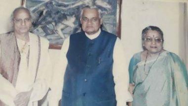 Atal Bihari Vajpayee Called Me Rasraj, Says Pandit Jasraj