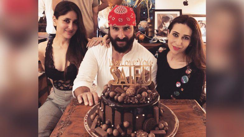 Saif Ali Khan's Birthday Party Was Mad Fun Thanks to Kareena Kapoor and Sara Ali Khan - See INSIDE Pics