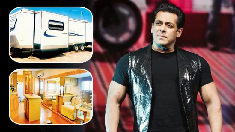 Salman Khan's Vanity Van in Malta While Shooting for Bharat Is No Less Than an Exquisite Suite- View Pics