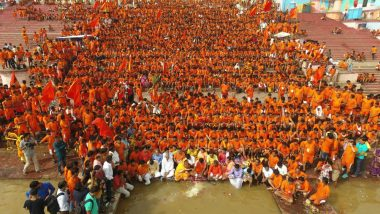 Shravan 2018: Thousands of Shiva Devotees Throng UP Temples, Police Use Drone Cameras for Close Watch