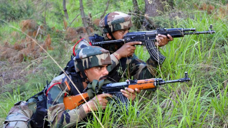 Jammu and Kashmir: Encounter Underway Between Security Forces and Terrorists in Baramulla District's Rafiabad