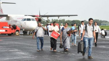Kerala: Operations Suspended at Cochin International Airport Till August 11 Due to Heavy Rainfall Warning