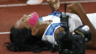 Swapna Barman Makes Plea For Customised Shoes After Becoming First Indian Heptathlete to Win Asiad Gold Medal at Asian Games 2018