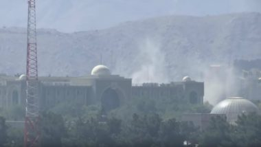 Eid al-Adha 2018: Dozen Missiles Fired Near Presidential Palace in Kabul, Watch Video of Counterattack
