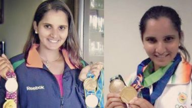 Asian Games 2018: Sania Mirza Shares Nostalgic Image With Her 8 Asiad Medals