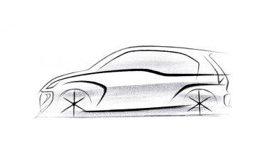 Hyundai AH2 Hatchback Official Design Sketch Revealed; India Launch Around Diwali