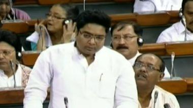 Abhishek Banerjee, Nephew of Mamata Banerjee, Fumbles in Lok Sabha, Evokes Laughter (Watch Video)