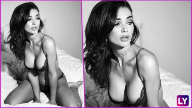 Amy Jackson Leaves Nothing to the Imagination in Sexy Black Bra! 2.0 Film Actress' Nearly-Naked Instagram Picture Is HAWT