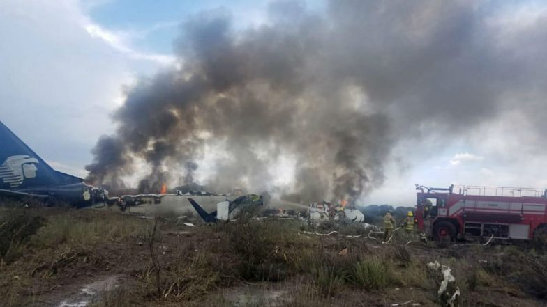 Aeromexico Plane Crashes in Mexico's Durango With 103 People on Board, All Miraculously Survived