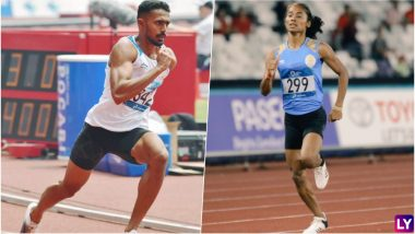 Muhammed Anas and Hima Das Win Silver Medals for India in 400m Races at Asian Games 2018