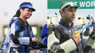 India Clinches First Medal at Asian Games 2018, Shooters Apurvi Chandela and Ravi Kumar Win Bronze in 10m Air Rifle Mixed Team Final