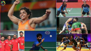 Asian Games 2018 Live News Updates Day 2: Indian Athletes From Shooting, Badminton, Wrestling in Medal Hunt Today