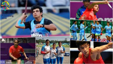 Asian Games 2018 Highlights Day 9: Neeraj Chopra's Gold Medal and 3 Silver Medals in Athletics Dominate the Day for India