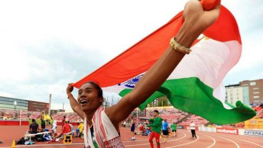 Hima Das Wins Silver Medal in Asian Games 2018 Women's 400m, India's Medal Rises to 34