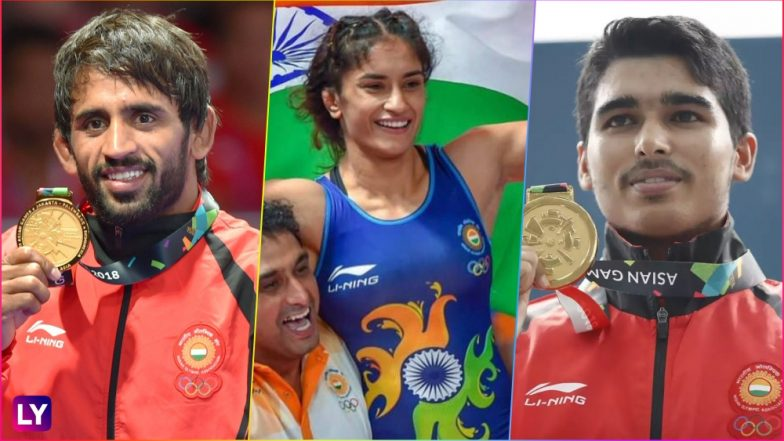2018 Asian Games Hits and Misses for India So Far: Saurabh Chaudhary, Vinesh Phogat & Bajrang Punia's Gold Medal Wins to Poor Show by Sakshi Malik and Sushil Kumar!