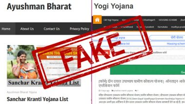 Fake PMJAY Ayushman Bharat Registration Apps: Government Releases List of 64 Mobile Applications, Warns Users From Downloading Them