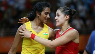 PV Sindhu vs Carolina Marin, 2018 BWF World Championships Final Live Streaming: What Is Today's Match Time? When and Where to Watch Badminton Singles Final?
