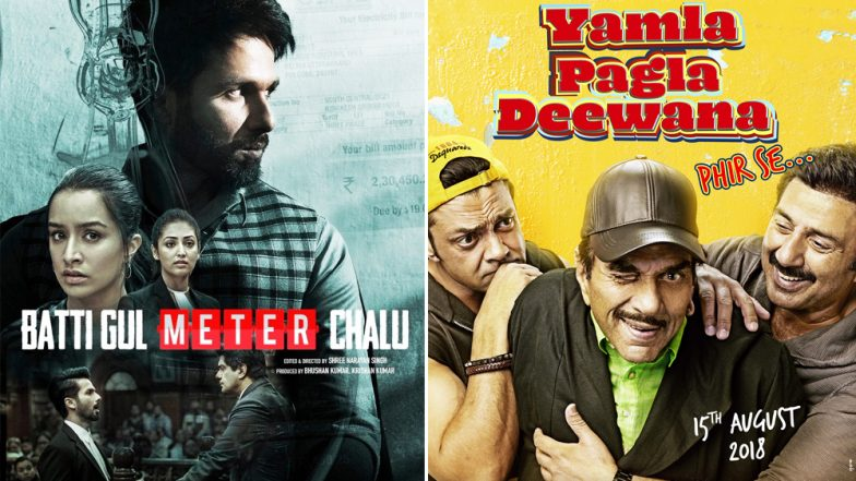Shahid Kapoor's Batti Gul Meter Chalu or Sunny Deol's Yamla Pagla Deewana Phir Se - Which Trailer Impressed You The Most?