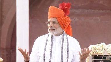 Independence Day 2020 PM Narendra Modi's Address: When & Where to Watch Live Streaming of Prime Minister's Speech? Check Red Fort Program Schedule and List of Guests