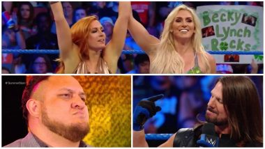 WWE SmackDown LIVE Results and Video Highlights: Tensions Simmer High Between Becky Lynch and Charlotte Flair; Samoa Joe Taunts AJ Styles Ahead of SummerSlam