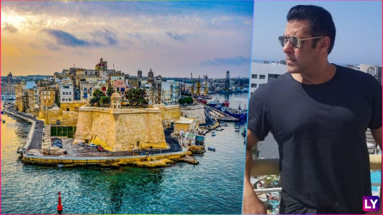 Image result for latest images of Salman Khan soaks in the sun while shooting for Bharat in Malta