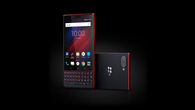 IFA 2018: BlackBerry KEY 2 LE Smartphone Launched at USD 399; Specifications & Features