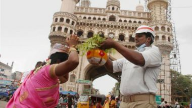 Bonalu 2021 Celebrated With Traditional Fervor and Gaiety in Old City of Hyderabad