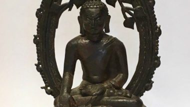 Buddha Statue Returned to India by UK Police on Independence Day After it Was Stolen 57 Years Ago