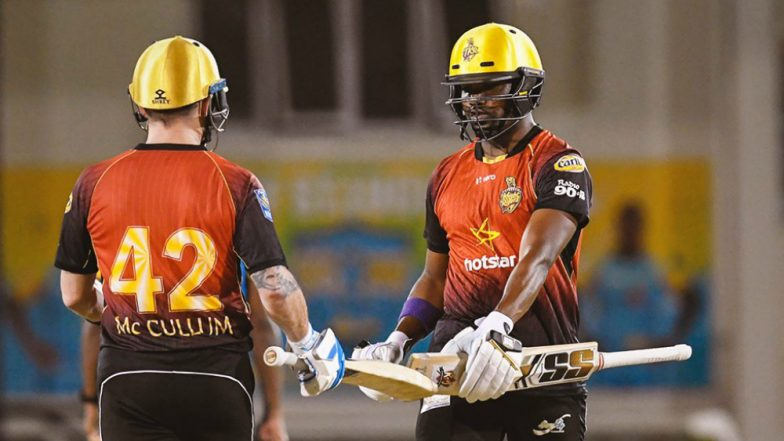 CPL 2018 Video Highlights: Darren Bravo Slams 36-Ball 94 to Lead Trinbago Knight Riders to 5-Wicket Win Over St Lucia Stars