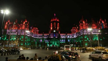 CSTM Building in Mumbai Illuminates in Tricolour to Wish & Celebrate India Independence Day 2018: View Pics