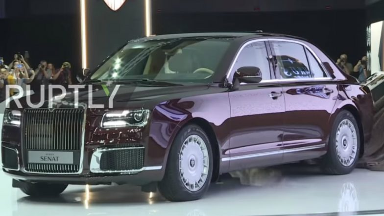 Russian President Vladimir Putin Gets a New Limousine, Check the Most Expensive Cars of World Leaders